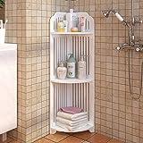 Furn Aspire Corner Shelf Corner for Bathroom Living Room, Corner Shower Waterproof Shelf Storage, Corner Shelving for Small S
