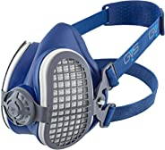 GVS-Elipse P3 R D Yarım Yüz Maske 1 çift aktif karbonlu toz filtresi x 5 ADET