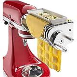 YMYGCC Machines à pâtes manuelles Pièce jointe Ravioli Maker for Mélangeurs Pie Pâtes Support Rouleau Nouilles Maker Machine