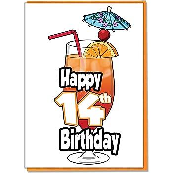 Mocktail Geburtstagskarte Zum 17 Geburtstag Teenager Mädchen