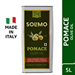 Amazon Brand - Solimo Pomace Olive Oil, 5l