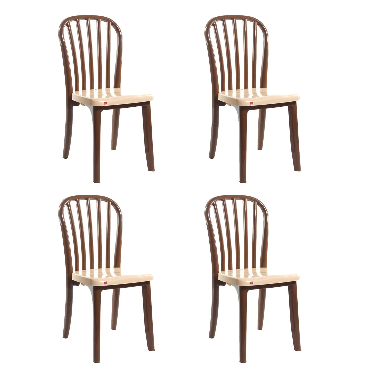 Cello Decent Delux Set of 4 Chairs Black Amazon Home & Kitchen
