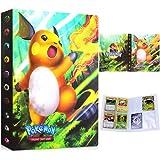 Pokemon kaartenhouder album map boek, Pokémon verzamelalbum, Pokémon kaarten album, 30 pagina's 240 kaarten capaciteit (Raich
