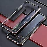 JAMIE Case For Asus ROG Phone 3 2020 ZS661KS, Luxury Aluminum Metal Bumper Frame Screw Case Cover, Metal Phone Cover Shockpro