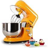 Klarstein Bella Robot de cuisine 1200W 5 Litres orange