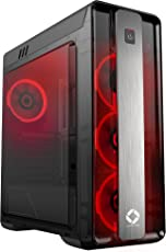 CHIPTRONEX GX2000 MID Tower Gaming Cabinet ATX CASE RED LED Fan USB 3.0 Without SMPS