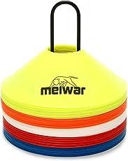 gipfelsport Markierungshütchen Sport Hütchen Set zur Markierung   Markierungsteller für Das Training im Fussball, Hockey, Handball oder Trainingshilfe für Koordination