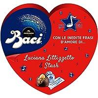 Baci Perugina Autografi d'Amore Cioccolatini Fondenti Ripieni al Gianduia e Nocciola Intera Scatola Cuore 150G
