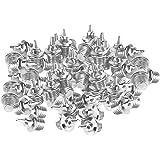 Injoyo Brevi Picchi di 120x Argento Sostituzione Atletica Scarpe da Corsa Albero di Natale in Acciaio