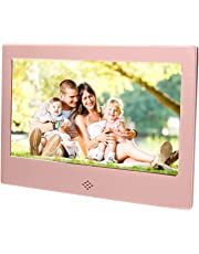 """Epyz HD Ready Digital Photo Frame With Fully Functional Remote (7"""" inch, Rose Gold)"""