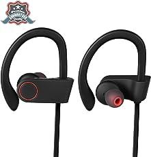 Bluetooth Kopfhörer sport - Bestfy Kopfhörer bloothooth kabellos in ear bluetooth 4.1 Sport Kopfhörer mit Mikrofon für iPhone x/8/7/6/5 Samsung Galaxy S8 S7 S6 S5 andere Smartphone oder Bluetooth-Gerät
