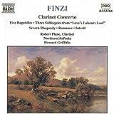 Finzi: Clarinet Concerto / Five Bagatelles / Three Soliloquies / Romance