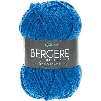bergère de france 22482 Pelote de Fil à Tricoter, Synthétique, Bleu, 13 x 8 x 8 cm