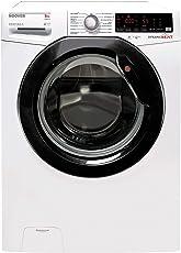 Hoover Waschmaschine 8Kg A+++ 1400 U/min (Dampftechnik, Energiesparend -40%, 14 Programme, Freistehend, Supersilent-Inverter-Motor, DXOA Q48AHB7-84)