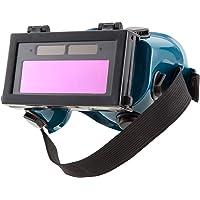 ENJOHOS Schweißerbrille Schutzbrille Augenschutz Vollsichtsbrille Schutz verstellbar Kopfband Schweiß-Zubehör…