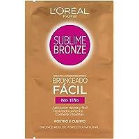 L'Oréal Paris Sublime, Salviette Autoabbronzanti per Viso e Corpo, 30 Pezzi [Versione inglese]
