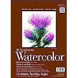 Strathmore 440-1 Strath W.Color 400 9X1212SHT 130 lbspirl, Multi kleuren