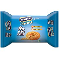McVities Digestive No Added Sugar Pouch, 75 g