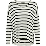 Only Onlmayea Life L/S V-Neck Pullover CC Knt Suter Pulver para Mujer