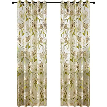 Amazon.de: MagiDeal 100 * 200cm Sonnenblumen Blumen Muster ...