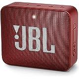 مكبر صوت محمول بتقنية البلوتوث جو 2 من جيه بي ال JBLGO2REDAM - احمر
