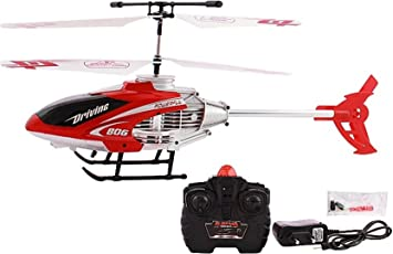 TFPS Radio Remote Controlled ABS Plastic Helicopter with Unbreakable Blades (MultiColour)