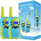 Kearui Juguetes para Niños de 3-8 Años,Walkie Talkie para Niños 8 Canales LCD Pantalla VOX Larga Distancia 3KM,Regalos para N