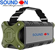 'SOUND ON' R101 40W HD Extra BASS Portable Bluetooth Speaker  8 hours Playback time  TWS  Power Bank Function   Free 2 year