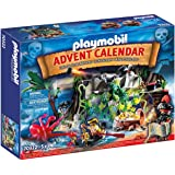 Playmobil Adventskalender 70322 Schattenzoektocht In Het Piratenbaak, Voor Kinderen Vanaf 5 Jaar, Meerkleurig, 40 x 30 x 7,5