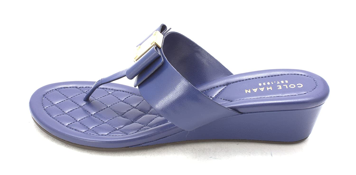 Cole Haan Womens Tali Grand Sandal Open Toe Casual Twilight Blue Size 60