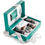 mCaffeine Coffee Mood Skin Care Gift Set | Signature Body Scrub, Face Wash, Scrub & Mask with Brew Scoop and Face Towel | Com
