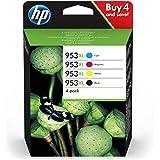 HP 953XL Genuine Black / Cyan / Magenta / Yellow 4 Cartridge Pack for HP OfficeJet Pro 8710/8715/8720 (3HZ52AE)