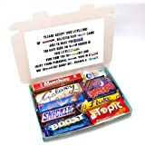 10 Piece Thank You Personalised Chocolate Poem Gift Box - Best Thank You Gift
