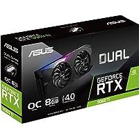 ASUS Dual GeForce RTX3060 TI Mini 8G V2 OC Edition Gaming Grafikkarte (Lite Hash Rate (LHR), Nvidia Ampere, PCIe 4.0…