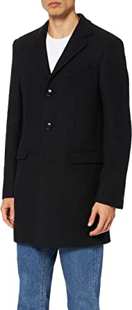 find. Men's Single Breasted Wool Mix Coat