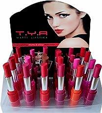TYA875214 TYA Matte Lipstick 24 Pack (Multicolour) (1)