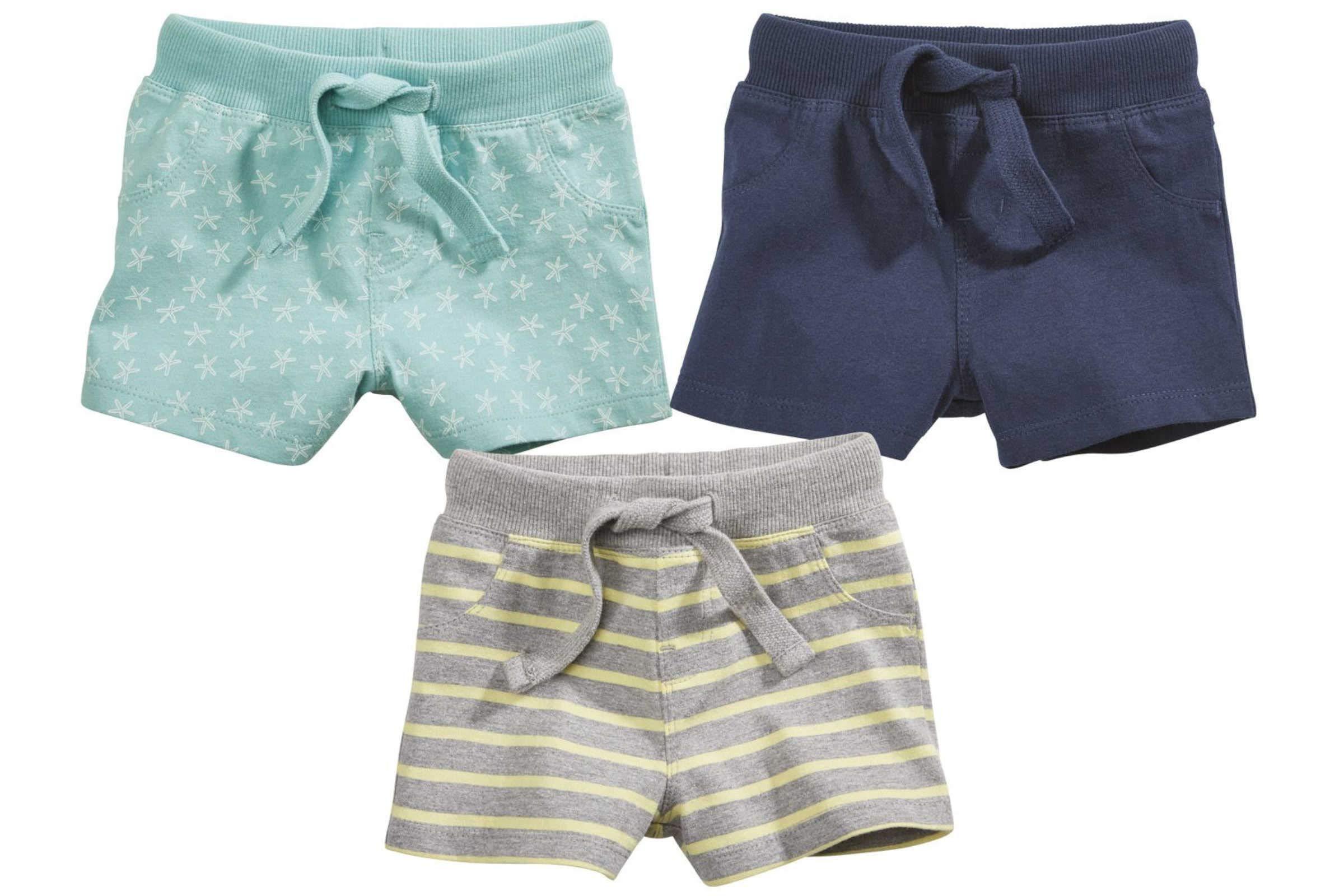 Lupilu® Baby Shorts Hosen Kinder Bermudas Mint 62/68