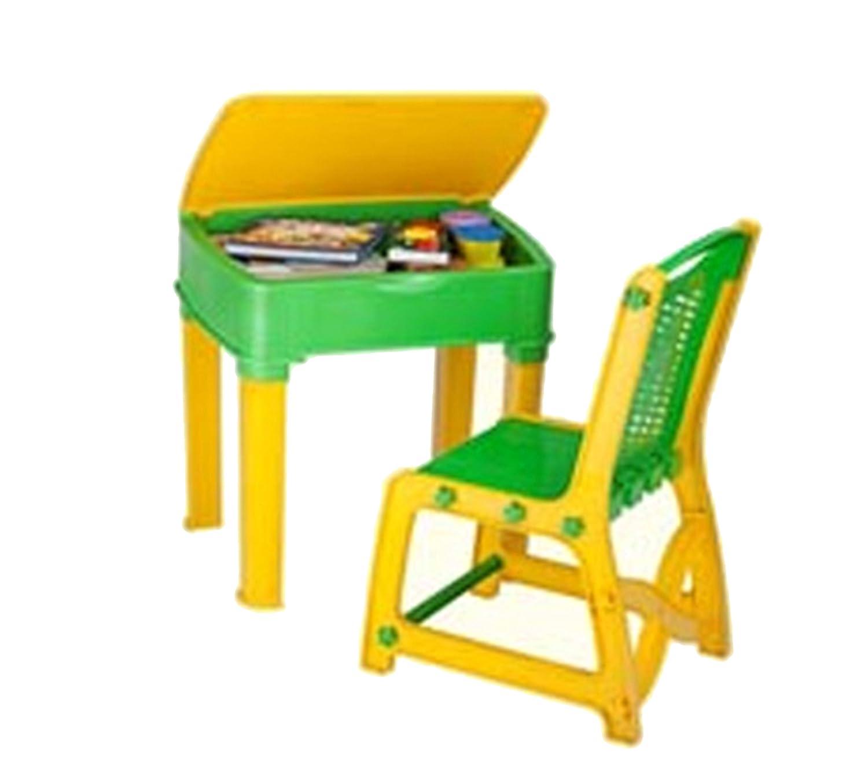 Nilkamal Apple Junior s Study Desk Yellow Green Amazon Home