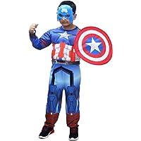 Kaku Fancy Dresses Superhero Costumes for Kids | Super Hero Fancy Dress for Kids - for Boys