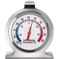 Thermomètre pour Réfrigérateur Congélateur Thermomètre à Grand Cadran de la Série Classique Thermomètre de Température…