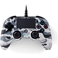 Nacon Compact Controller PS4 Ufficiale Sony PlayStation, Grigio Camouflage