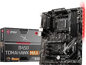 Msi B450 Tomahawk Max Ii Amd Am4 Ddr4 M 2 Usb 3 2 Gen 2 Computers Accessories