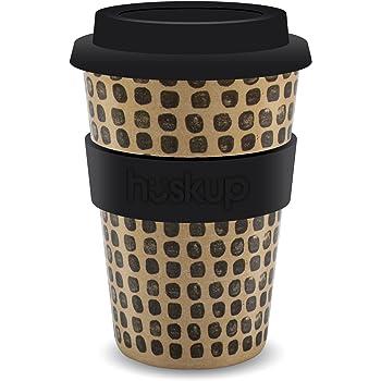 Huskup Reusable Eco Coffee Cup – Pebbles 400ml