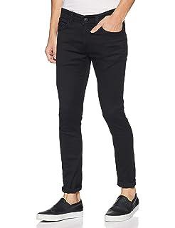 Spykar Men's Super Skinny Fit Stretchable Jeans