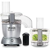 NUTRIBULLET - Veggie Bullet - Spiraliseur électrique coupe, râpe hache légumes fruits - Robot culinaire légumes spirales…