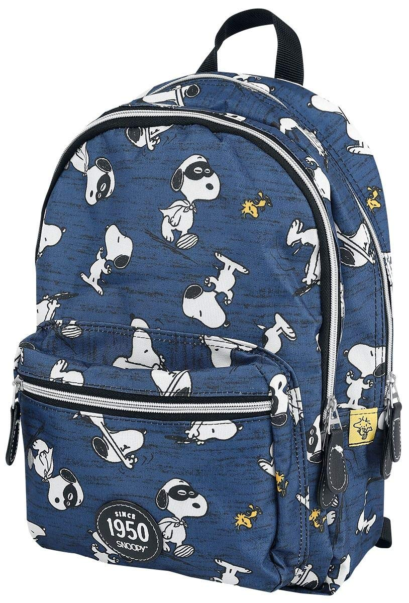71iAkzKvhiL - Peanuts Snoopy Mochila Azul