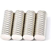 Magenesis Lot de 52 Mini aimants en néodyme,10 x 2 mm, extrêmement puissants, Environ 2 kg de Force d'adhérence, 10 mm…