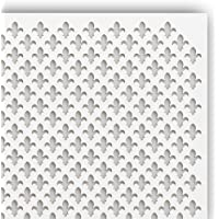 MDF Platte Zuschnitt 2,5mm stark 3 Stk unbeschichtet f Hobby u Werkstatt 70 x 70 cm
