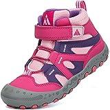 Mishansha Zapatillas de Senderismo Niños Ligeras Antideslizante Transpirable Zapatos de Trekking, Gr.24-36