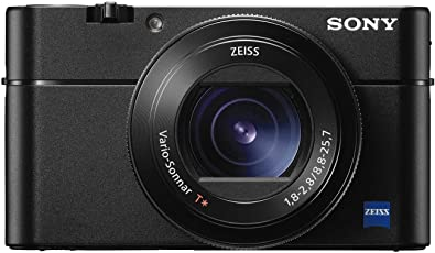 Sony DSC-RX100M5 Advanced Digital Compact Premium Camera (Black) with Free Camera Bag